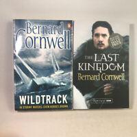 2 Bernard Cornwell Books Bundle - Wildtrack, The Last Kingdom