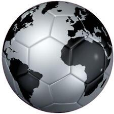 decal sticker worldcup car bumper flag soccer ball foot football silver worl
