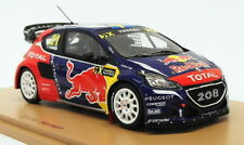 Spark 1/43 Scale S5194 - Peugeot 208 Winner World RX Of Canada 2016