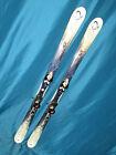 K2 Lotta LUV T:Nine T9 womens all mountain skis 153cm w/ Salomon s710 bindings