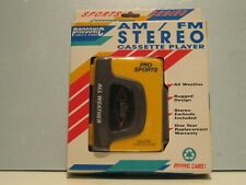 Prosonic Am/Fm Stereo Cassette Player, All Weather - New In Original packaging