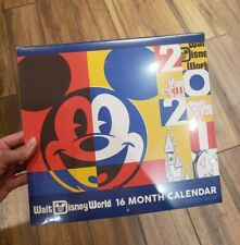 Disney Parks Disney World Official 16 Month Calendar 2020 2021 IN HAND FAST SHIP