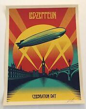 Shepard Fairey Celebration Day Led Zeppelin Artist Proof Signed Print Obey AP