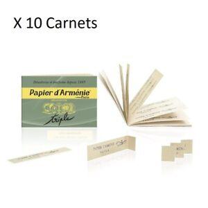 Lot 10 Carnets Papier d'Arménie Triple - PAPIER ARMENIE