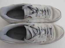Reebok Mens Classic Sneaker US White 9 Leather Laced Tennis Shoes