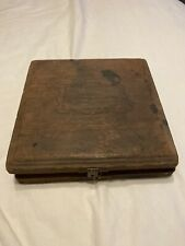Vintage Kingsley Machine Company Type Hot Foil Stamping Box
