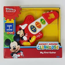 Disney Jr. Mickey Mouse Clubhouse My First Guitar Light and Sound Unisex Kids