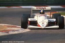 Derek WARWICK. Arrows A10, 1987. Vintage 35mm F1 slide. S245