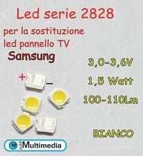 10 Led mod.2828 per retroilluminazione TV Samsung 1,5W  100-110LM/W