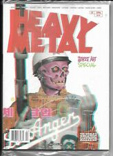 Heavy Metal Magazine #296 A 2019 Street Art Special Factory Sealed 1977 Series