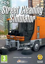 Street Cleaning Simulator (PC CD) BRAND NEW SEALED
