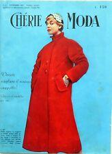 RIVISTA MAGS MAGAZINE STYLE CHERIE MODA N.5 1955 MOD.CAROSA