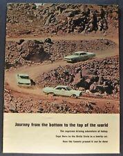 1965 Mercury Comet World Catalog Brochure Caliente Nice Original 65
