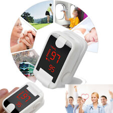 Top Fingertip Pulse Oximeter Blood Oxy meter SpO2 Patient Heart Rate Monitor FDA