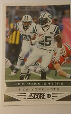 NFL Trading Card Joe McKnight New York Jets Score 2013 Panini