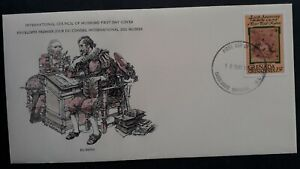 1978 Grenada Peter Paul Rubens Anniv FDC ties 15c Stamp cd Carriacou