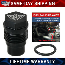 Rail Fuel Plug For 04-10 Chevy 6.6L Duramax 07-12 Dodge 6.7L Cummins Diesel