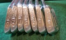 Spalding Top Flite Executive Synchro-Dyned Iron Set Golf Leather Match Ser. #'s