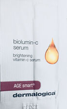 8 X Dermalogica BIOLUMIN C SERUM Samples Sample Foils Sachets Foil ❤️ VITAMIN C