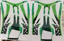 RTR Cheetah Aeolos chassis decals-Green/Checkered