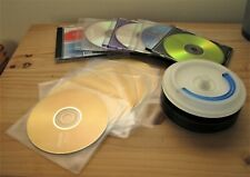 33 blank recordable DVD / CD discs with spindle & cases; Philips, Maxell & more