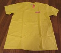 Supreme No More Sh*t Tee T-Shirt Size Medium Lemon Yellow FW20 Supreme New York