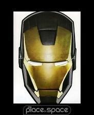 IRON MAN CARDBOARD MASK