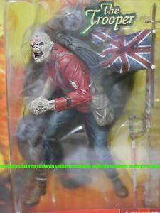 McFarlane Toys SPAWN Iron Maiden Eddie The Trooper Action Figure Sealed AS IS