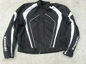 kawasaki textile motorcycle jacket size 5xl