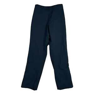 FJ Footjoy Women's Size Large Black Golf Rain Pants Waterproof Adjustable Waist