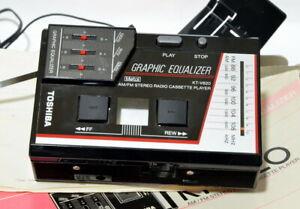 Stereo Radio Cassette Player Toshiba KT V 620 Japan Russian CCCP Walkman