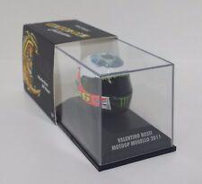 "MINICHAMPS VALENTINO ROSSI AGV CASCO HELMET 1/8 MOTOGP MUGELLO 2011 ""EYE"" OCCHIO"