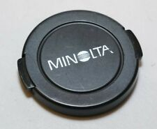 Minolta Camera MD Lens Front Cap 55mm Late Version