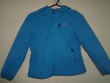 SNOZU girls outdoor bright blue fleece faux fur lined jacket/coat – 5-6 yrs XS