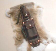 Handmade Leather sheath for Ka Bar MK2 or Buck 124,119, 120,  Becker BK 2 or  10