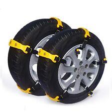 Unstuck Traction Tire Belt Tool - Car Snow Anti-skid Tire Chains (10pcs)