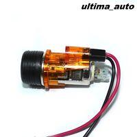 12V Amber/ Orange Cigarette Lighter & Socket For AUDI A2 A3 A4 A6 80 100 200 NEW