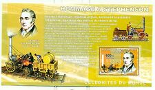 TRAINS - CONGO 2006 A. Stephenson block perforated