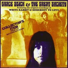 Grace Slick & The Great Society CD NEW SEALED Jefferson Airplane White Rabbit+