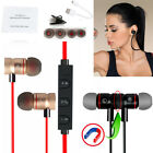Bluetooth V4.1 Wireless Magnetic In-Ear Stereo Sports Headphone Earphone HOT Lot