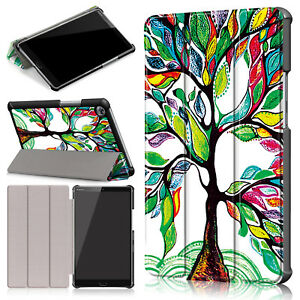 For Huawei MediaPad M5 Magnetic Leather Stand Protective Cover Smart Case