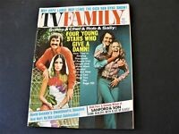 TV Family-Sonny & Cher and Rob & Sally-Four Young Stars -July 1972, Magazine.