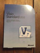 Microsoft Visio Standard 2010, Deutsche Vollversion mit MwSt-Rechnung