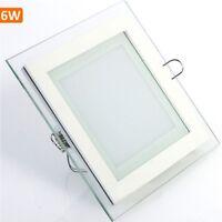 6W Unterputz LED Panel Decken Einbauleuchten Warmweiß Neutralweiß 450 lm Eckig