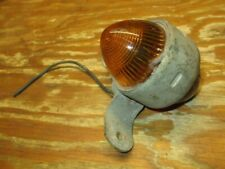 Vintage King Bee Antique Beehive Glass Tail Light Marker Hotrod Motorcycle Car K
