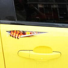Car Sticker Vinyl Decal Funny Scary Bumper Window Bonnet Door Monster Eyes 3D