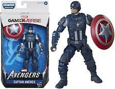 Marvel Legends 6 Inch Captain America Gamerverse Avengers Action Figure + BAF
