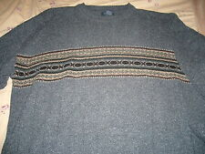 MEN'S DOCKERS GREY SWEATER  SIZE X-LARGE