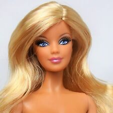 Barbie Doll Model Muse Blonde side part Blue eyes