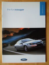 FORD COUGAR orig 1999 UK Mkt Sales Brochure  - 2.0i 16v, 2.5i V6 24v